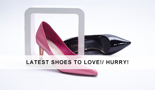 Latest shoes to love!/ Hurry!