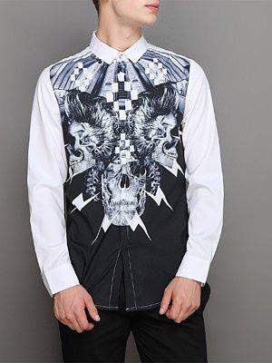 Berrylook coupon: Trendy Special Printed Men Shirts