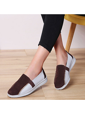 Color Block Date Flat & Loafers, 8455621