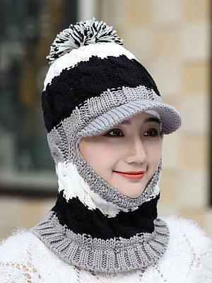 Korea Style Fashion Hats For Winter фото