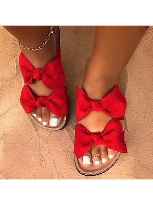 Flat Peep Toe Casual Date Travel Comfort Slippers, 8313335