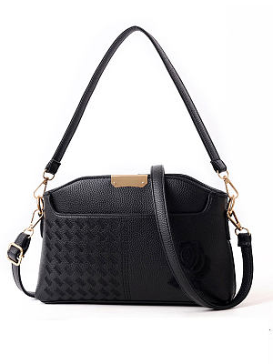Luxury Leahther Plian Shoulder Bags