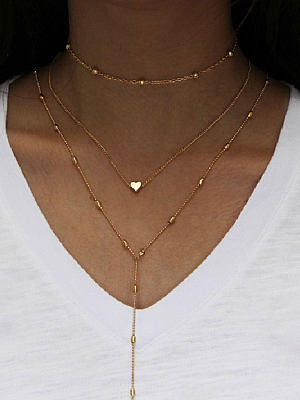 Berrylook coupon: Three Pieces Long Necklaces For Women