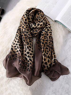 Women Leopard Print Sexy Fashion Stylish Scarves