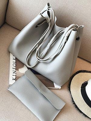 Two-Piece Shoulder Bag And Handbag