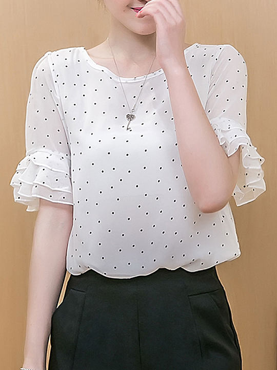 https://www.berrylook.com/en/Products/spring-summer-chiffon-women-round-neck-polka-dot-bell-sleeve-short-sleeve-blouses-208933.html?color=white