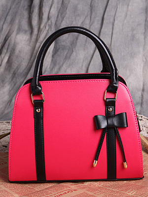 Berrylook coupon: Luxury Bowknot Plain Hand Bag For Women