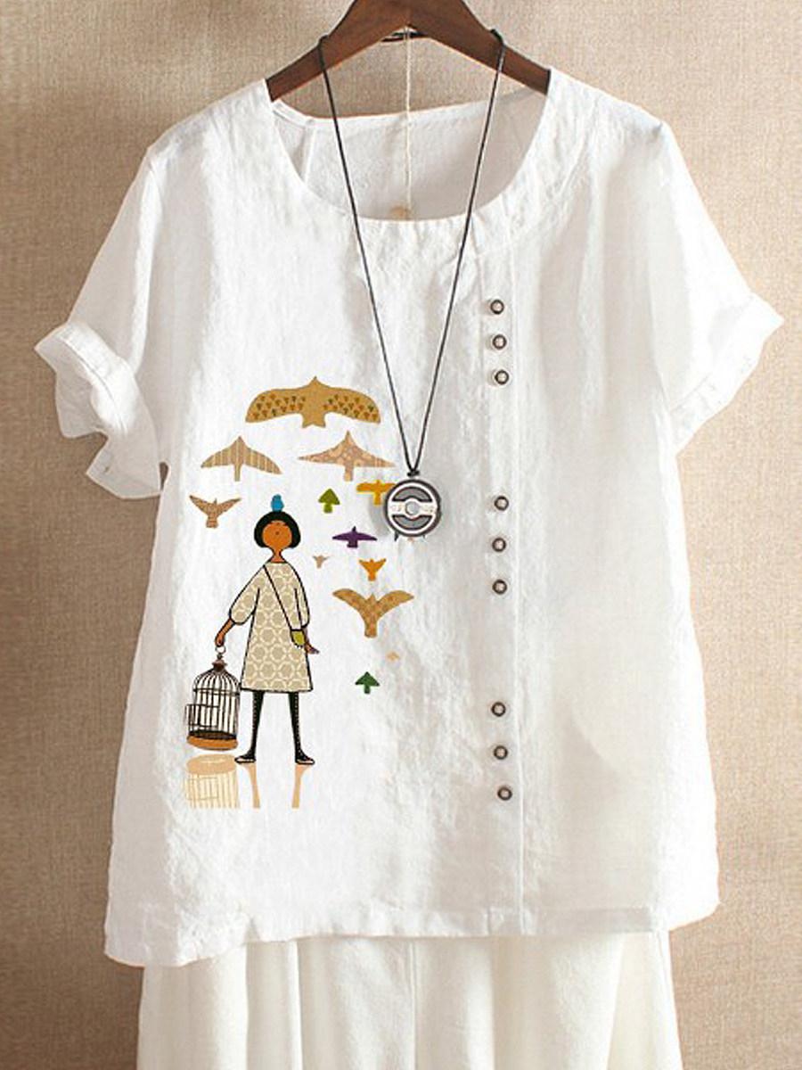 Cartoon Shirts & Blouses