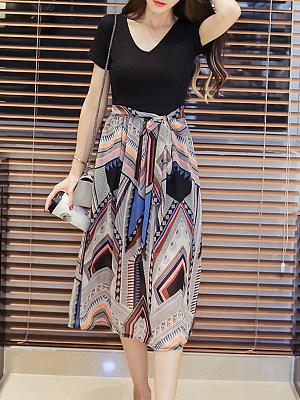Sweet Heart  Printed Maxi Dress