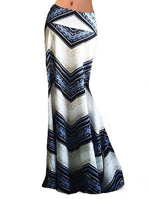 Cutout Scalloped Hem  Contrast Piping High Stretch  Abstract Print Asymmetric Stripe  Tulip Midi Skirts
