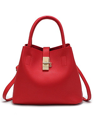 Hot Korea Stylish Faux PU Shoulder Bag фото