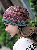Image of New cotton yarn head Baotou pregnant women month hat ladies Korean headgear