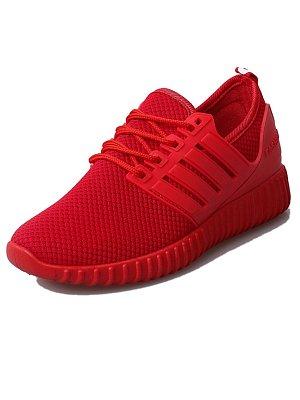 Plain Flat Criss Cross Round Toe Sport Sneakers, 3845677