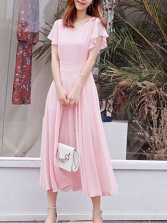 https://www.berrylook.com/en/Products/round-neck-plain-bell-sleeve-maxi-dress-208984.html?color=pink