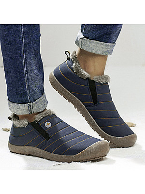 berrylook Plain Flat Round Toe Outdoor Ankle Ankle Boots