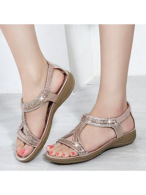 Flat Peep Toe Date Office Flat Sandals фото