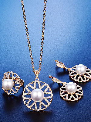 New Style Faux beads Jewelry Sets For Women