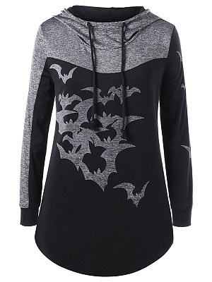 Hooded  Animal Prints Hoodie