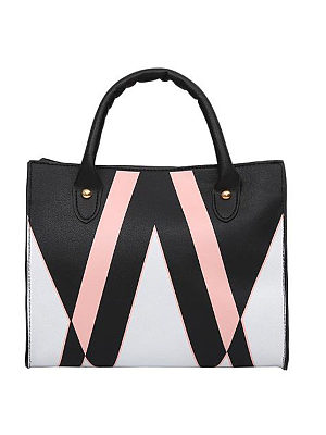 Simple Triangle Print PU Hand Bag фото