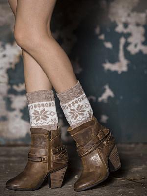 Berrylook coupon: Christmas Snow Short Leg Warmers