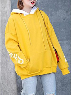 Casual Plain Long Sleeve Outerwear, 8536560