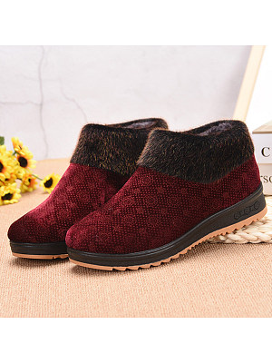 Round Toe Boots, 9429176