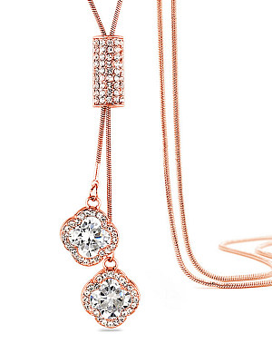 Berrylook coupon: Rhinestone Pendant Long Necklace