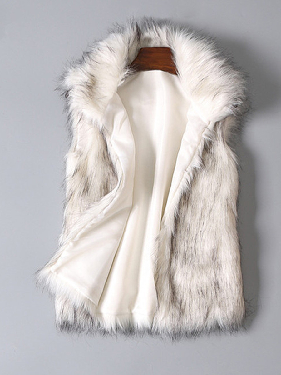 Fold-Over Collar Waistcoat