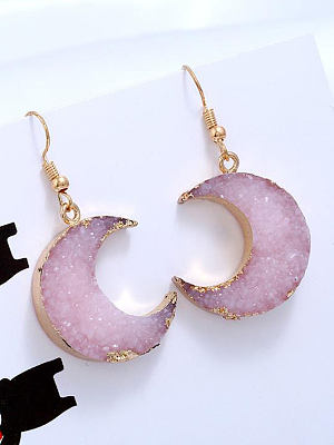 Berrylook coupon: Sweet Moon Shape Earrings
