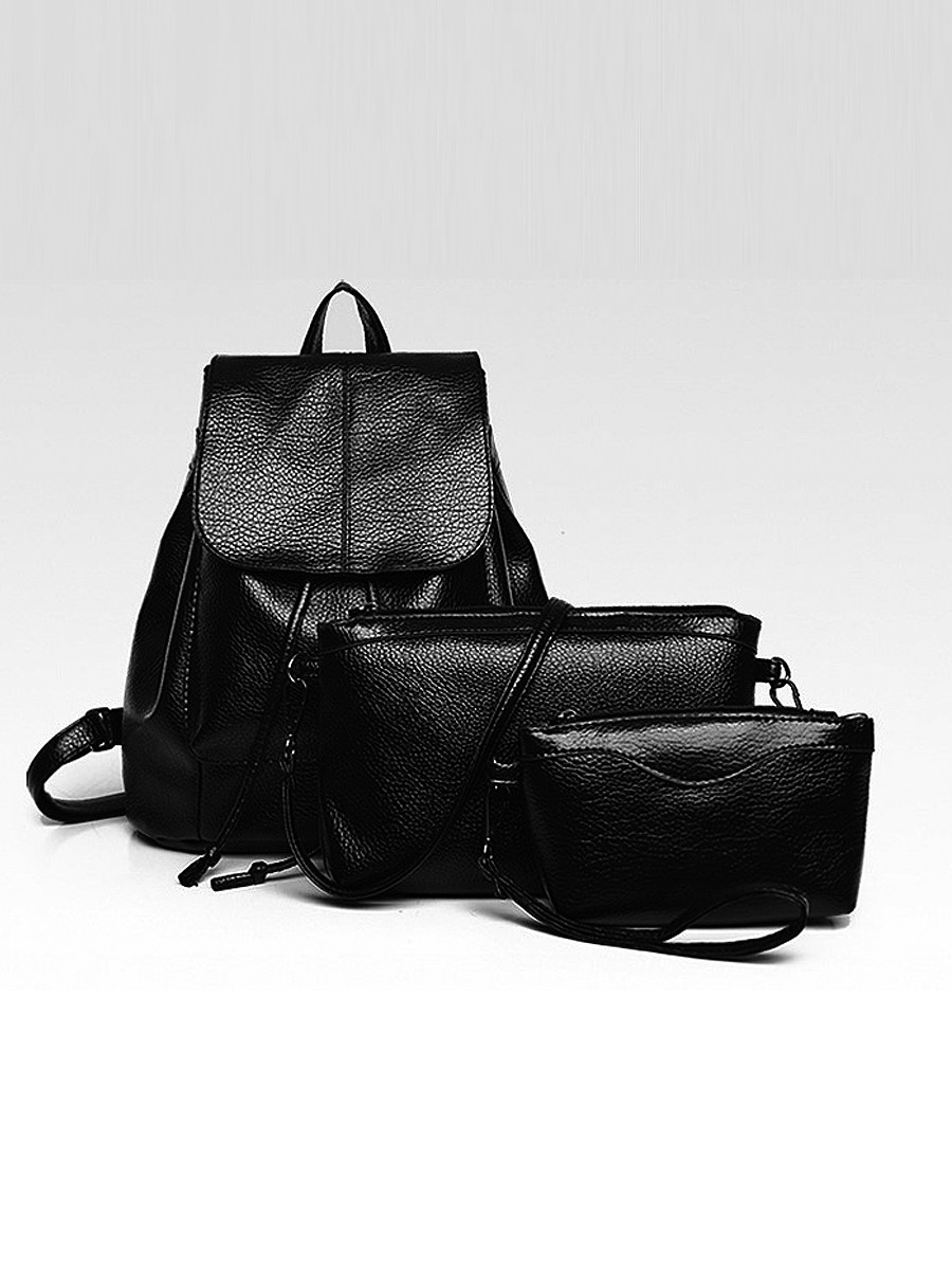 Three-Piece Multi-Function Female Bag Backpack