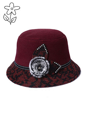 Fashion Plain Hats For Lady, 5991218
