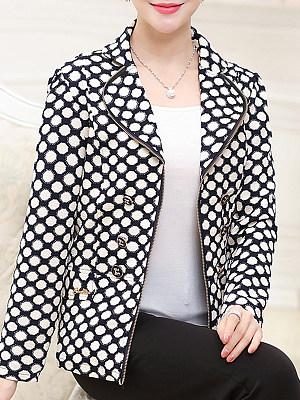 Floral Printed Long Sleeve Jackets
