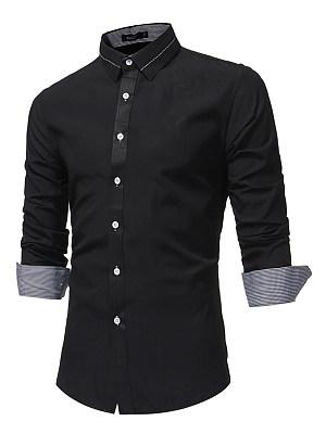 Plain Men Shirts In Slim Fit
