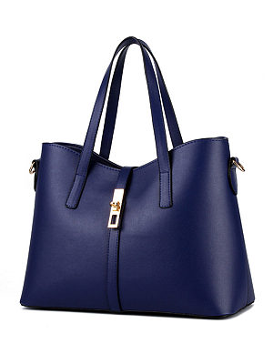 Berrylook coupon: Simplicity Pu Classic Shoulder Bag