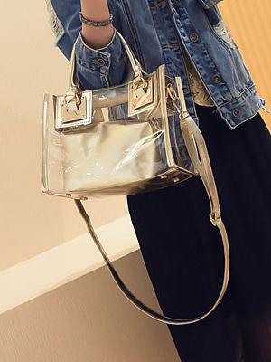 New Fashion Style  PVC Chic Women Crossbody Bags