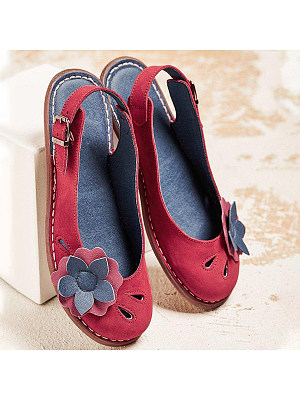 Plain Flat Round Toe Date Travel Flat & Loafers, 7178623