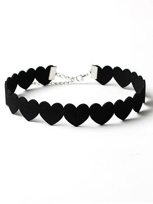 Berrylook coupon: Velvet Heart Choker Necklace