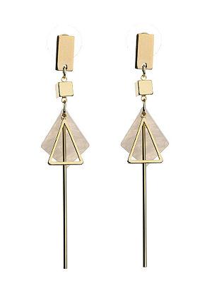 Berrylook coupon: White Shell Pendant Bar Earrings