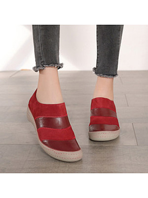 Plain Round Toe Sneakers, 9882198
