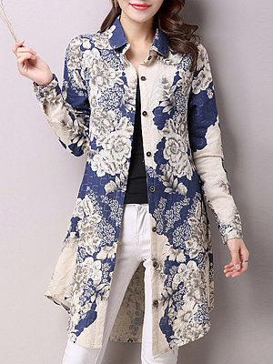 summertime florals, casual clothes, bright colorful blouses