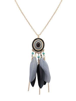 Ethnic Style Women Long Necklace