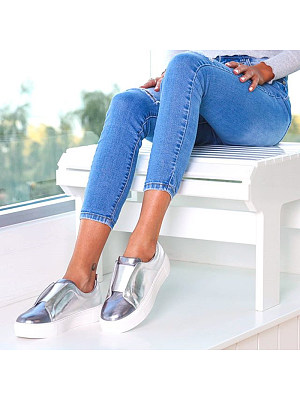 Casual Round Toes Platform Shoes Single Shoes, 8422317