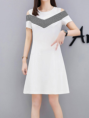 Cheap white fashion dresses
