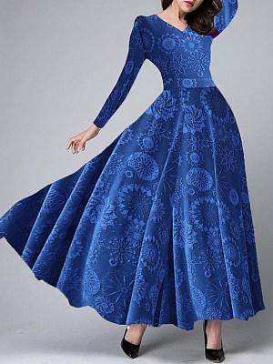 Sweet Heart Printed Maxi Dress, 8916642