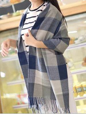 Berrylook coupon: Lady Fashion Cotton  Plald Scarves
