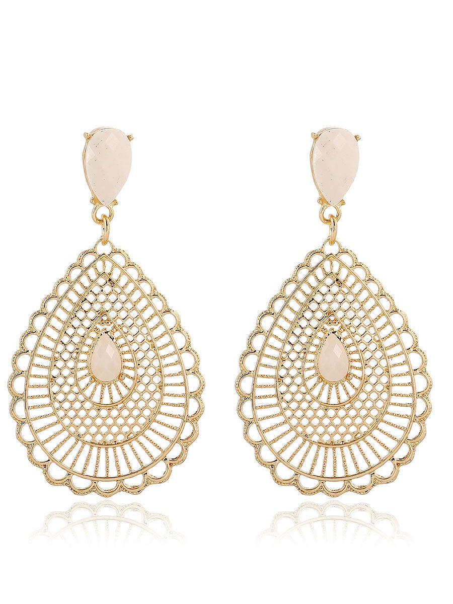 Imitated Crystal Bohenmia Earrings For Women