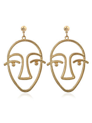 Berrylook coupon: Metal Geotric Earring
