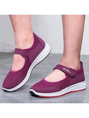 BERRYLOOK / Plain  Flat  Round Toe  Casual Sneakers