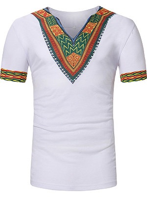 Printed Short Sleeve Short Sleeves T-Shirts фото