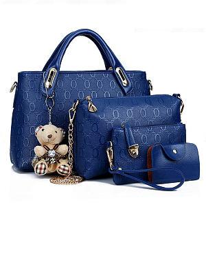 Berrylook coupon: Four Pieces Tiddy Bear Shoudler Bags